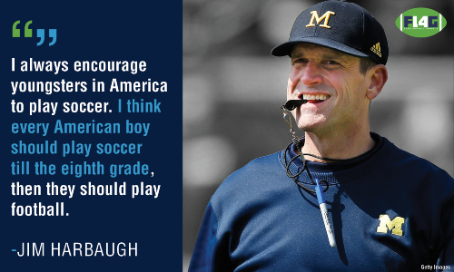 Jim Harbaugh Flag Football Under 14
