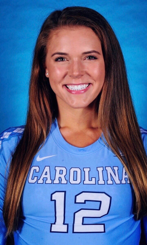 Julia Scoles UNC Volleyball