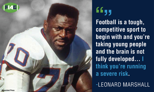 Leonard Marshall Flag Football Under 14