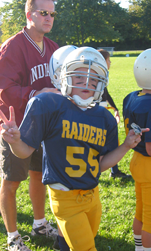 Evan Hansen Youth Football