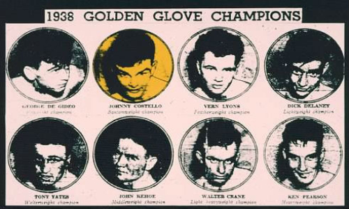John Costello Golden Gloves