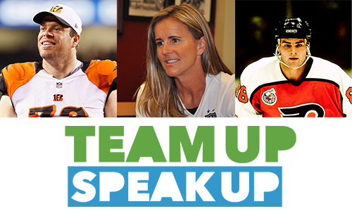 Team Up Speak UP Ambassadors