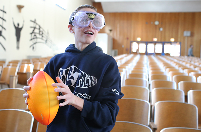 Team Up's Concussion Goggles Provide a Challenge