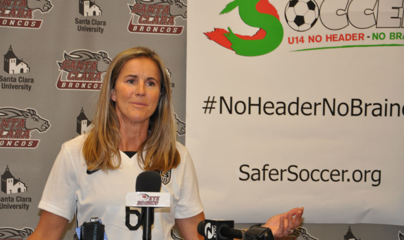 Brandi Chastain Safer Soccer