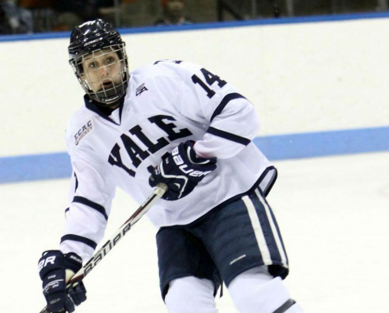 Paige Decker Yale Hockey
